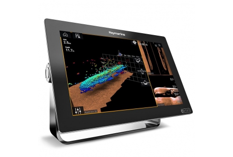 Raymarine Axiom 12 RV WiFi and Touch Color Multifunction Display with 600W RealVision 3D Fishfinder
